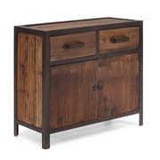 Zuo® Fort Mason 32.7H Cabinet, Distressed Natural