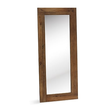 Zuo® Vistacion 63in. x 27.6in. x 1in. Floor Mirror, Distressed Natural