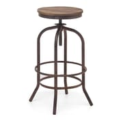 Zuo® Fir Wood Twin Peaks Barstool, Distressed Natural