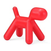 Zuo® Polypropylene Pup Chair, Red