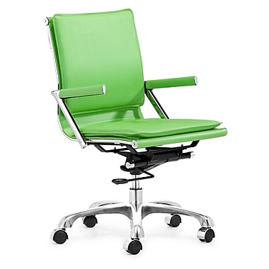 Zuo® Leatherette Lider Plus Office Chairs