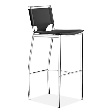 Zuo® Leatherette Lark Bar Chairs