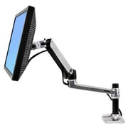 "Ergotron LX 45-241-026 Desk Mount Arm for 32"" LCD Monitor, Silver"
