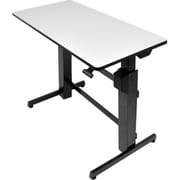 Ergotron 24-271-926 Computer Desk, Light Gray