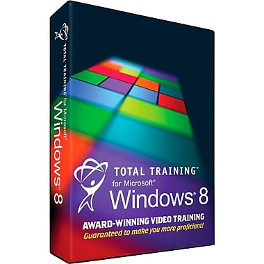 Total Training TLTTALL00 90 Days Total Training For Microsoft Windows 8 [Boxed]