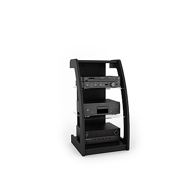 Sonax® Milan 21in. W Wood Component Stand, Midnight Black