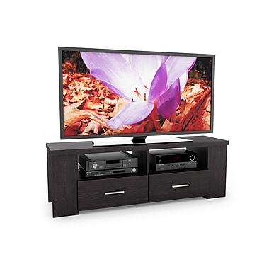 Sonax® Bromley 60in. TV/Component Bench, Ravenwood Black
