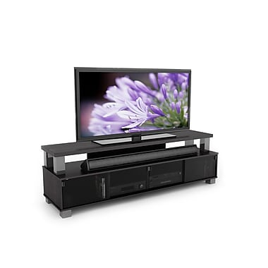Sonax® Bromley 75in. Medium Density Fiberboard TV Stand, Ravenwood Black