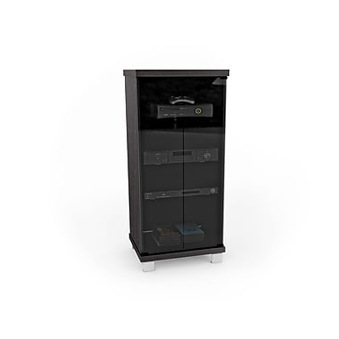 Sonax® Holland 20in. W Component Stand, Ravenwood Black