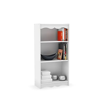 Sonax® Hawthorn 48in. Wood Bookcase, Frost White