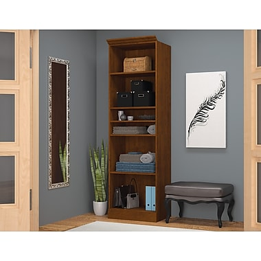 Bestar 25in. Storage Unit, Tuscany Brown