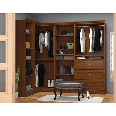 Bestar Corner Kit, Tuscany Brown