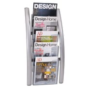Alba Metal Wall Literature Display, 5-Pocket