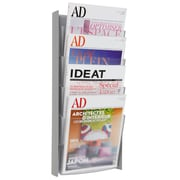 Alba 4 Pocket A4 Wall Document Display, Gray