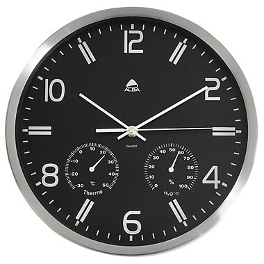 Alba Weather Quartz Wall Clock, Diameter:11,80