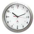 Alba HORMURM Colorful 11.8in. Wall Clock, Metallic Gray