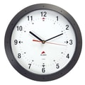 Alba HORMURM Colorful 11.8in. Wall Clock, Black