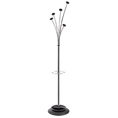 Alba Stylish Festival Floor Coat Stand, Chrome