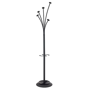 Alba Stylish Festival Floor Coat Stand, Black