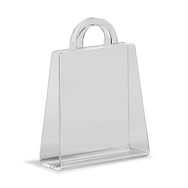 Zuo® Purse Magazine Rack, Transparent
