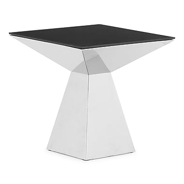 Zuo® Painted Tempered Glass Tyrell Tall Table, 22