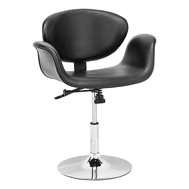 Zuo® Leatherette Barber Chair, Black