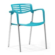 Zuo® Scope ABS Dining Chairs, Blue