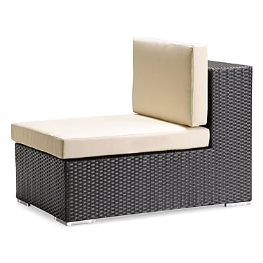 Zuo® Cartagena Polypropylene Middle Chair, Espresso