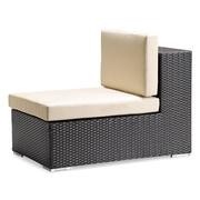 Zuo® Cartagena Polypropylene Middle Chair, Espresso