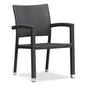 Zuo® Aluminum Boracay Chair, Espresso