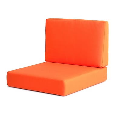 Zuo® Cosmopolitan Armchair Cushion, Orange