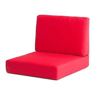 Zuo® Cosmopolitan Armchair Cushion, Red
