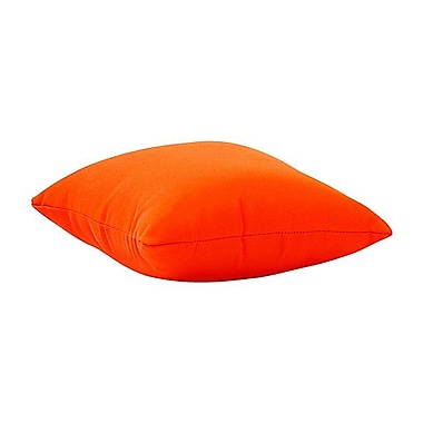 Zuo® Laguna Polyester Outdoor Pillow, Orange