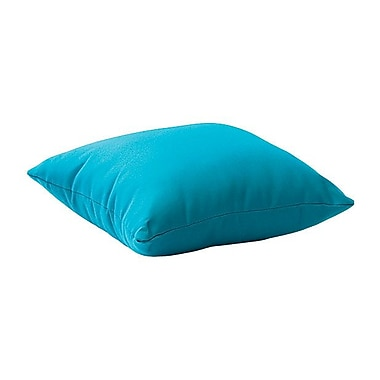 Zuo® Laguna Polyester Outdoor Pillow, Sky Blue