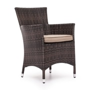 Zuo® Aluminum South Bay Chair, Brown