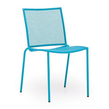 Zuo® Steel Repulse Bay Chairs, 4/Pack