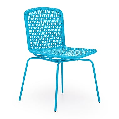 Zuo® Steel Silvermine Bay Chairs