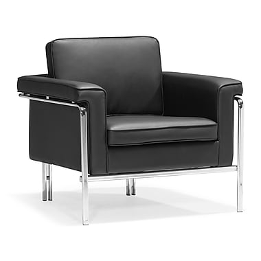Zuo® Singular Leatherette Armchairs