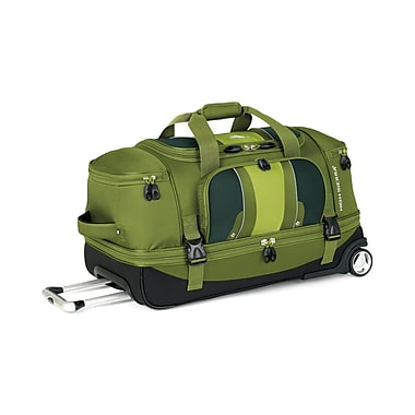 High Sierra EV203 28in. Drop-Bottom Wheeled Duffel Amazon Green