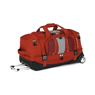 High Sierra EV203 28in. Drop-Bottom Wheeled Duffel Lava