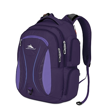 High Sierra Vex Backpack Deep Purple