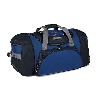 High Sierra AT101 30in. Wheeled Duffel W/ Backpack Straps Nightfall