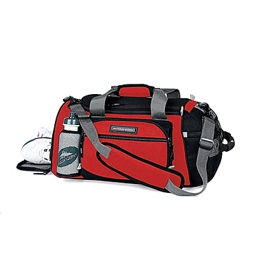 High Sierra AT109  WATer Bottle Sport Duffle Fire Red