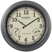 LA Crosse Technology® WT-3181P Atomic Wall Clock