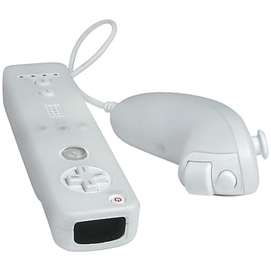 CTA® WI-SSC Sleeve for Nintendo Wii Remote and Nunchuk, Clear