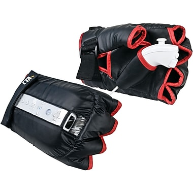 CTA® WI-KBG Knockout Boxing Gloves for Nintendo Wii