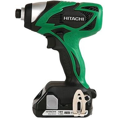 Hitachi WH18DSAL 18V 1.5Ah Li-ion Compact Pro Impact Driver