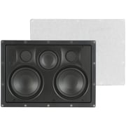 Pinnacle® Wafer 5 Element 4 Way Flush In-Wall Center Channel Speaker, White