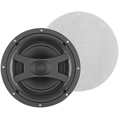 Pinnacle® Wafer 2 Element 2 Way Flush In-Ceiling Audiophile Speaker, White