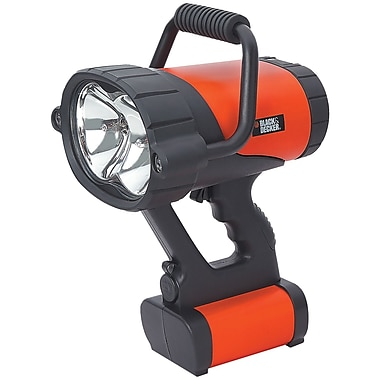 Black & Decker® V-3 Million Power Rechargeable Spotlight